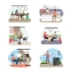 Coffee Shop Scene Set Flat Vector Isolated - GraphicRiver Item for Sale