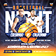 Basketball Game Night Flyer - GraphicRiver Item for Sale
