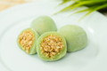 Chinese dessert mochi with ground peanut sugar filling - PhotoDune Item for Sale