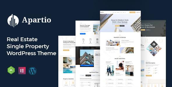 Apartio - Single Property WordPress Theme
