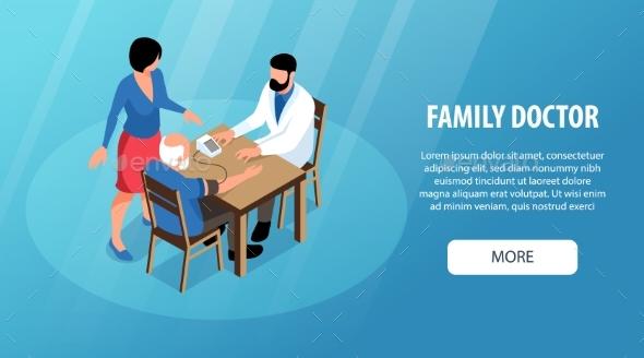Family Doctor Horizontal Banner