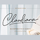 Claudiana - Handwritten Font - GraphicRiver Item for Sale