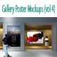 Gallery Poster MockUp ( Vol 4) - GraphicRiver Item for Sale