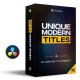 Unique Modern Titles - VideoHive Item for Sale