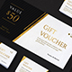 Gold Gift Voucher - GraphicRiver Item for Sale