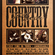 Country Music Flyer Template V4 - GraphicRiver Item for Sale