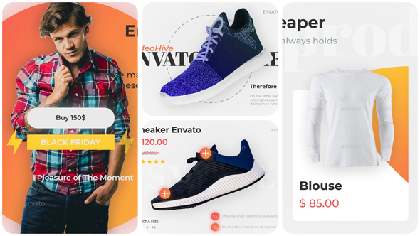 Product Promo -  Shoes and Clothing
