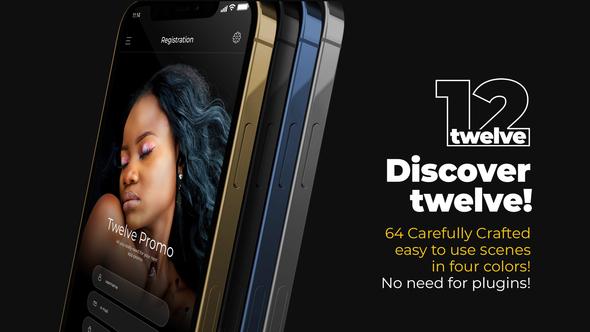 Twelve App Promo