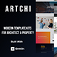 Artchi - Modern Architecture Elementor Template Kit - ThemeForest Item for Sale