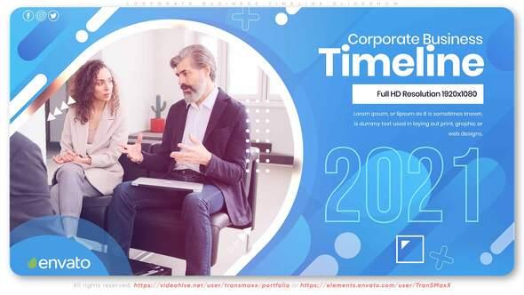 Corporate Business Timeline Slideshow