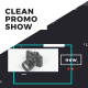 Clean Promo Show - VideoHive Item for Sale