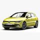Volkswagen Golf 2020 - 3DOcean Item for Sale