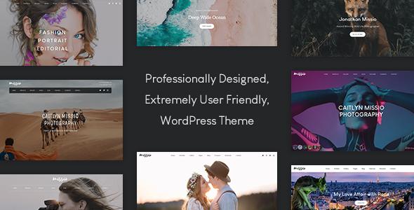 Missio – Photography WordPress