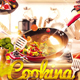 Cooking Food Restaurant Themed Flyer - GraphicRiver Item for Sale