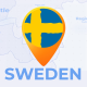 Sweden Map - Kingdom of Sweden Travel Map - VideoHive Item for Sale