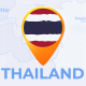 Thailand Map - Kingdom of Thailand Travel Map - VideoHive Item for Sale