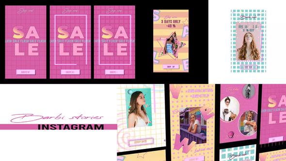 Barbie Sale Stories Instagram