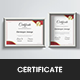 Red Gold Certificate - GraphicRiver Item for Sale