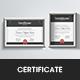 Minimal Concept Certificate - GraphicRiver Item for Sale