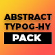 Abstract Typography Pack V1 - VideoHive Item for Sale