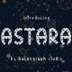 Astara | Stars Typeface - GraphicRiver Item for Sale
