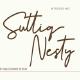 Suttiq Nesty handwritten Script Font - GraphicRiver Item for Sale