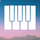 Inspirational Piano Arpeggios the Way Up