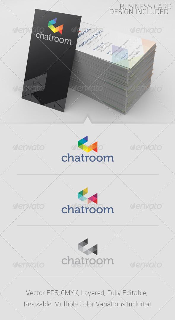Chatroom Logo Template