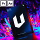 Unreal I Backgrounds and Posters - VideoHive Item for Sale