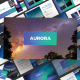 Aurora - Business Powerpoint Template - GraphicRiver Item for Sale