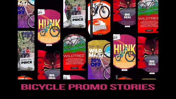 Bicycle promo stories instagram