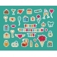 Sticker Pack for Valentine's Day - GraphicRiver Item for Sale