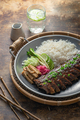 Closeup pork short ribs asian cuisine, rustic style - PhotoDune Item for Sale