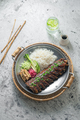 Asian style pork short ribs with rice and vegetables - PhotoDune Item for Sale
