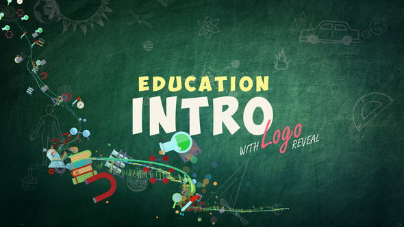 Kids Education Logo - School Intro