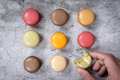 Colorful french dessert macarons - PhotoDune Item for Sale