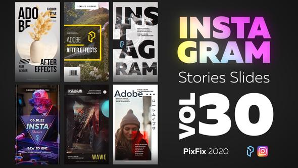 Instagram Stories Slides Vol. 30