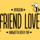 Friend Love - Handwritten Display Font - GraphicRiver Item for Sale