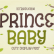 Prince Baby - Cute Display Font - GraphicRiver Item for Sale