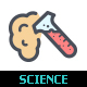Science & Virus Line with Color Icon - GraphicRiver Item for Sale