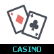 Casino & Gambling Line with Color Icons - GraphicRiver Item for Sale