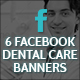 Facebook Dental Care Banners - GraphicRiver Item for Sale