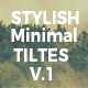 Stylish Minimal Titles V.1 - VideoHive Item for Sale