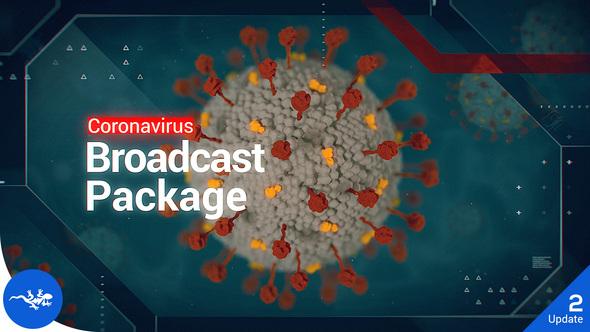 Coronavirus Broadcast Package | COVID-19 Pack