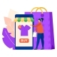 Online Clothes Shopping Mobile Phone Application - GraphicRiver Item for Sale