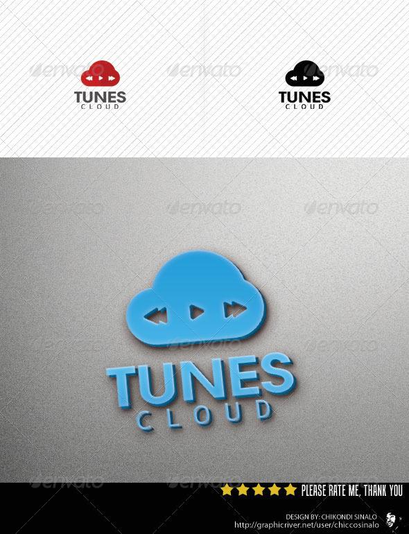 Cloud Tunes Logo Template
