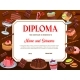 School Education Diploma Vector Template Desserts - GraphicRiver Item for Sale