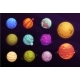 Alien Planets Cartoon Set of Space Game Interface - GraphicRiver Item for Sale