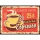 Coffee Metal Sign Rusty Poster Plate Cafe Menu - GraphicRiver Item for Sale