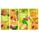 Fresh Tropical Fruits Vector Cartoon Banners Set - GraphicRiver Item for Sale
